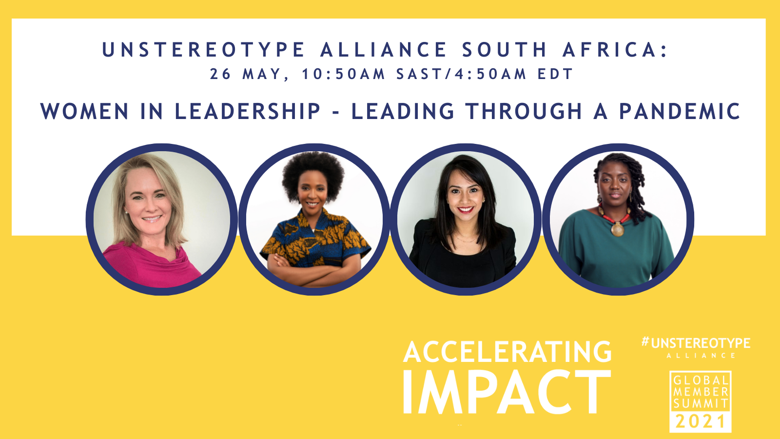 WiM Africa Takes part in Unstereotype Alliance 2021 Global Member Summit